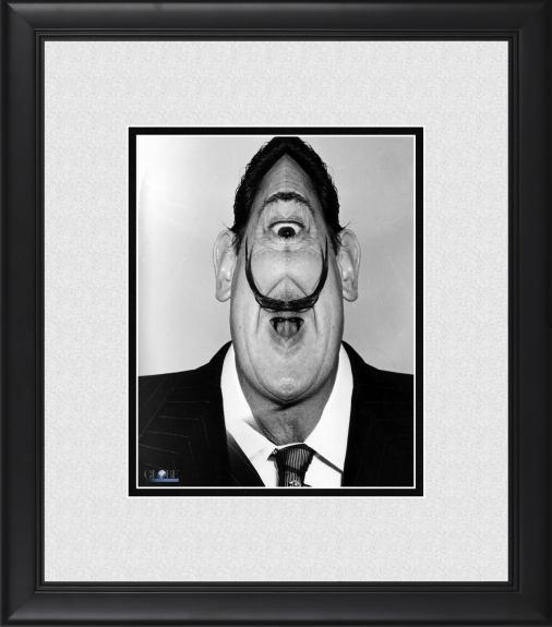 "Salvador Dali Framed 8"" x 10"" Distorted Photograph"