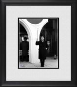 "Salvador Dali Framed 8"" x 10"" Holding His Cane Photograph"