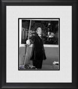"""Salvador Dali Framed 8"""" x 10"""" Striking a Pose Photograph"""