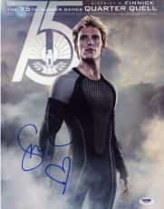 Sam Claflin signed 11x14 photo! Hunger Games! Finnick! PSA COA!