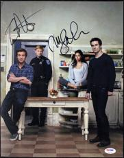 Sam Huntington & Meaghan Rath Being Human Signed 11X14 Photo PSA/DNA #T50720
