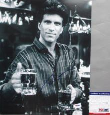 SAM MAYDAY MALLONE!!! Ted Danson Signed CHEERS 11x14 Photo #1 PSA/DNA