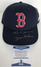 SAM MAYDAY MALONE!!! Ted Danson CHEERS Signed BOSTON RED SOX Hat BECKETT BAS