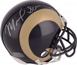 Michael Sam Autographed Mini Helmet - St. Louis Rams