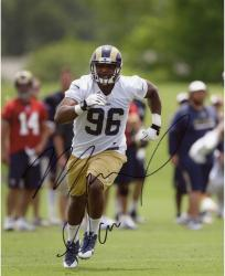 Michael Sam Autographed St. Louis Rams 8x10 Photo