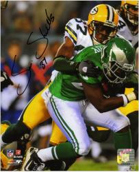 Sam Shields Green Bay Packers Autographed 8'' x 10'' Action Photograph - Mounted Memories