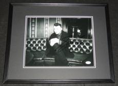 Autographed Sam Smith Photo - Framed 11x14 Poster JSA In the Lonely Hour Stay Me