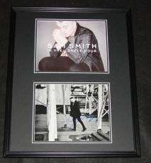 Sam Smith Signed Framed 16x20 Photo Display In The Lonely Hour
