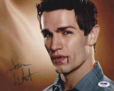 Sam Witwer SIGNED 8x10 Photo Aidan Being Human Syfy PSA/DNA AUTOGRAPHED