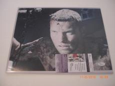 Sam Worthington Clash Of The Titans,avatar,terminator Jsa/coa Signed 11x14 Photo