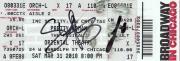 SAMANTHA BARKS & STEVE KAZEE signed (PRETTY WOMAN) Broadway ticket W/COA