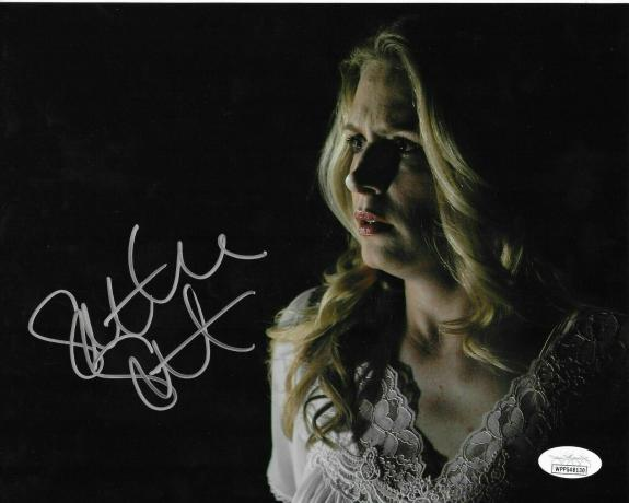 Samantha Smith Signed 8x10 Photo Authenticated Supernatural Mary Winchester JSA