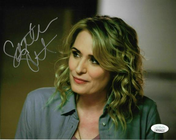 Samantha Smith Signed 8x10 Photo JSA Supernatural Mary Winchester Authenticated