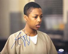 Samira Wiley Signed 'Orange Is The New Black 11x14 Photo PSA AD41051
