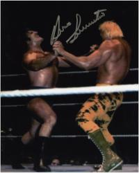 "Bruno Sammartino Autographed 8"" x 10"" Power Struggle Photograph"