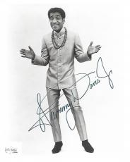 "SAMMY DAVIS JR. - DANCER/SINGER/IMPRESSIONIST - Record Hit was ""THE CANDY MAN"" Also Part of the 'RAT PACK' Included FRANK SINATRI, DEAN MARTIN, PETER LAWFORD, and JOEY BISHOP' Signed 8x10 B/W Photo"
