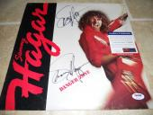 Sammy Hagar Danger Zone Signed Autographed Album LP Record PSA Certified