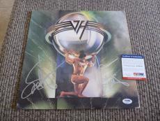 Sammy Hagar Michael Anthony Van Halen 5150 Signed Autographed LP PSA Certified