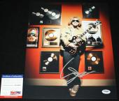 Sammy Hagar signed 11 x 14, Van Halen, Chicken Foot, Montrose, PSA/DNA AB62661