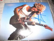 SAMMY HAGAR SIGNED AUTOGRAPH 8x10 PHOTO VAN HALEN CHICKEN FOOT IN PERSON COA C