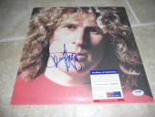 Sammy Hagar Signed Autographed Album LP Photo Sleeve Record PSA Certified