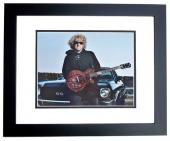 Sammy Hagar Signed - Autographed Van Halen 11x14 inch Photo BLACK CUSTOM FRAME - Guaranteed to pass PSA or JSA