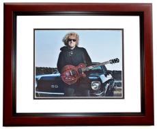 Sammy Hagar Signed - Autographed Van Halen 11x14 inch Photo MAHOGANY CUSTOM FRAME - Guaranteed to pass PSA or JSA