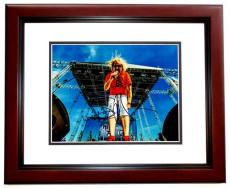 Sammy Hagar Signed - Autographed Van Halen 11x14 inch Photo MAHOGANY CUSTOM FRAME - Guaranteed to pass PSA or JSA