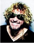 Sammy Hagar Signed - Autographed Van Halen Singer 8x10 inch Photo - Guaranteed to pass PSA or JSA