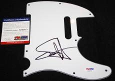 Sammy Hagar signed pickguard, Van Halen, Chickenfoot, Cabo Wabo, PSA/DNA
