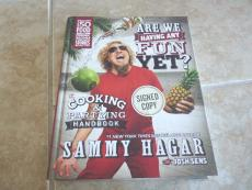 Sammy Hagar Van Halen Having Fun Yet Signed Autographed Book PSA Guaranteed #2