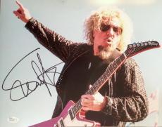 SAMMY HAGAR (Van Halen/Cabo Wabo's) signed/ autographed 11x14 Photo-JSA P01725