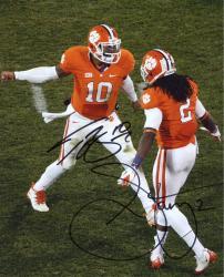 Sammy Watkins & Tajh Boyd Clemson Tigers Dual Autographed 8'' x 10'' High Five Photograph