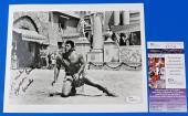 SAMSON BURKE SIGNED 8x10 PHOTO / MOVIE STILL ~ ACTOR HERCULES ~ JSA R78244 ~