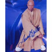 "Samuel Jackson Autographed ""Star War"" Celebrity 8x10 Photo"