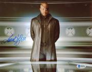 "Samuel L. Jackson Autographed 8"" x 10"" Avengers Standing with Hands Behind Back Photograph - Beckett COA"