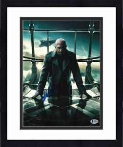 Samuel L Jackson Signed 11x14 Photo The Avengers Beckett Bas Autograph Auto A