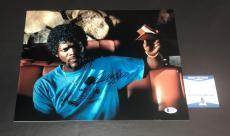 Samuel L Jackson Signed Auto Pulp Fiction 11x14 Photo Bas Beckett Coa 24