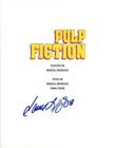 Samuel L. Jackson Signed Autographed PULP FICTION Full Movie Script COA VD