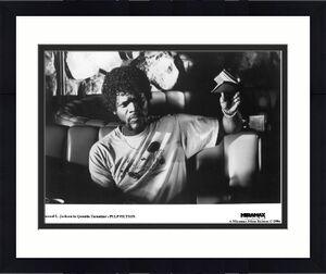 Samuel L. Jackson unsigned Pulp Fiction Miramax B&W 8x10 Promo Photo (Quentin Tarantino)