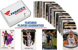 San Antonio Spurs Team Trading Card Block/50 Card Lot