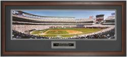 San Diego Padres 1998 NL Champions Qualcomm Stadium Framed Unsigned Panoramic Photograph with Suede Matte - Mounted Memories