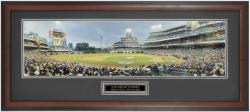 San Diego Padres First Pitch at PetCo Park Framed Unsigned Panoramic Photograph with Suede Matte - Mounted Memories