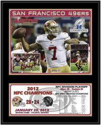 "San Francisco 49ers 2012 NFC Champions 12"" x 15"" Sublimated Plaque"
