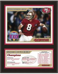 "San Francisco 49ers 12"" x 15"" Sublimated Plaque - Super Bowl XXIX"