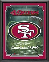"San Francisco 49ers Team Logo Sublimated 10.5"" x 13"" Plaque"