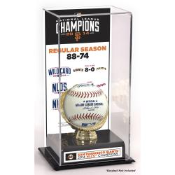 San Francisco Giants 2014 National League Champions Gold Glove Display Case