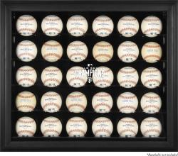 San Francisco Giants 2014 World Series Champions Black Framed 30-Ball Display Case