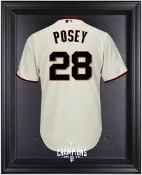 San Francisco Giants 2014 World Series Champions Black Framed Logo Jersey Display Case