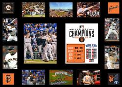 """San Francisco Giants 2014 World Series Champions Framed 29"""" X 22"""" Multi-Photo Collage"""